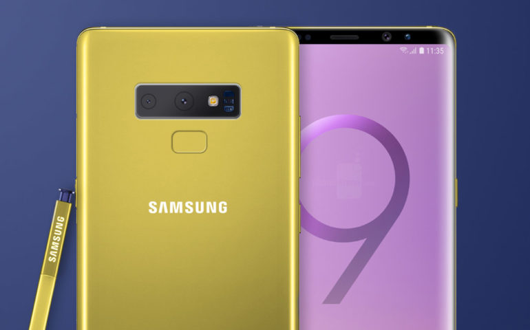 A Galaxy Note 9 Rl Augusztus N Hullhat Le Lepel